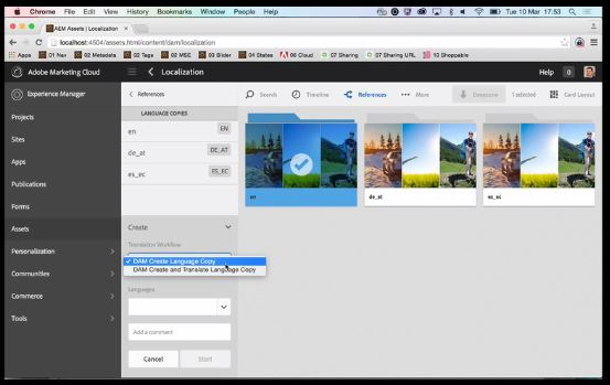 Adobe Experience Manager 6.1 (AEM 6.1) Adobe Assets